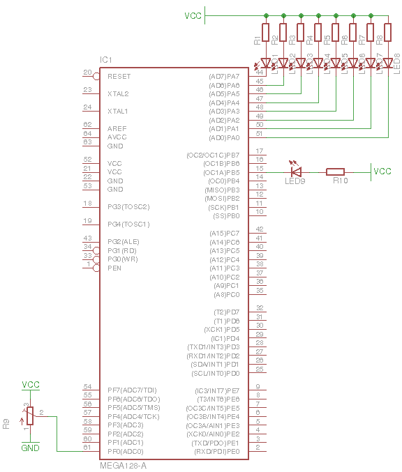 megaAVR PWM Example